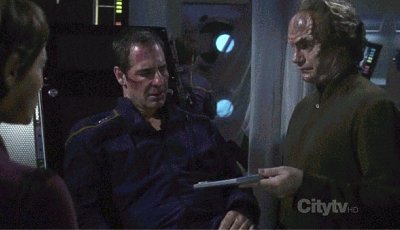 ", Star Trek Enterprise – 3.19 – ""Beschädigungen"" (""Damage"") Review"