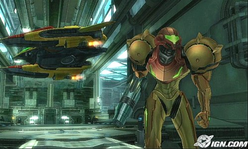 , Metroid Prime Galaxy vs. Super Mario Corruption