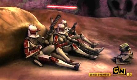 , Star Wars – The Clone Wars: Die ersten beiden Folgen