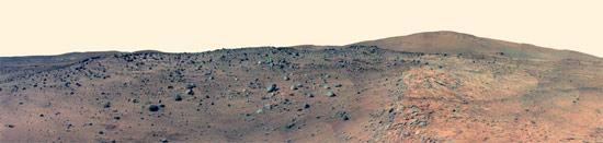 , Mars macht immer noch mobil, Landschaft schöner als Gelsenkirchen