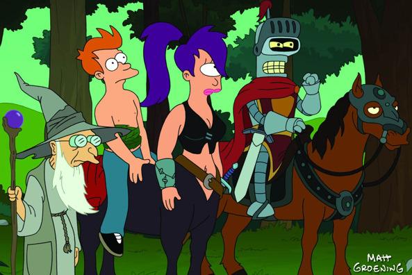 , Futurama: Bender's Contact mit Tinte (3 Reviews)