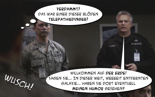 ", Stargate Universe – 1.07 – ""Earth"" (Comic Inside!)"