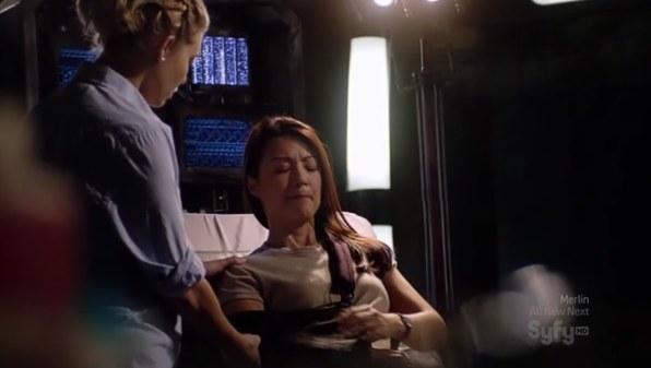 ", Stargate Universe – 1.17 – ""Halluzinationen"" (""Pain"") Review"
