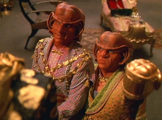 , Star Trek Voyager – Staffel 3, Teil 2: Ein Zuschauer sieht rot?