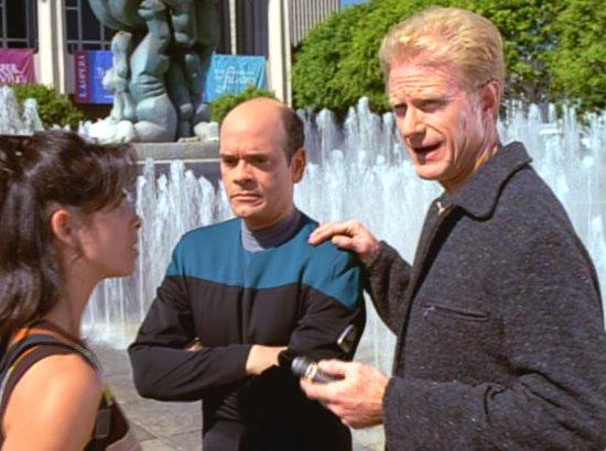 , Star Trek Voyager – Staffel 3, Teil 3: Anruf von der Qualitätssicherung?