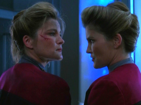", Star Trek Voyager – 2.21 – ""Die Verdopplung"" (""Deadlock"") Review"