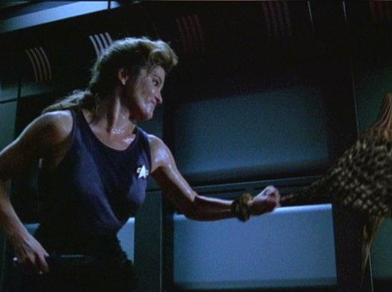 , Star Trek Voyager – Staffel 3, Teil 4: Loser-Brandzeichen gefällig?