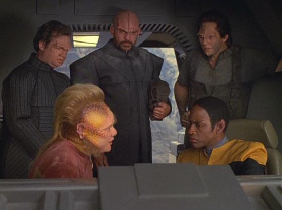 , Star Trek Voyager – Staffel 3, Teil 7: Folter für die Vergessenen