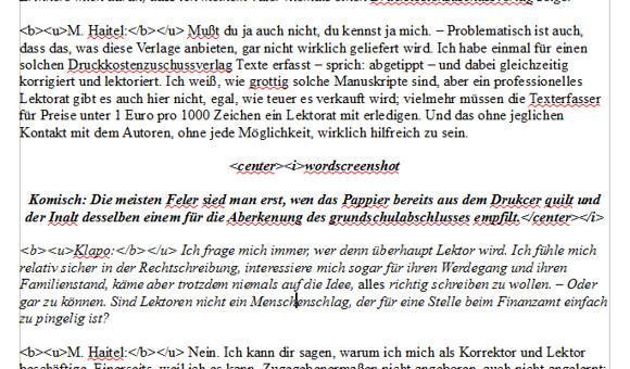 , Kleinverlag im Interview (Teil 1)