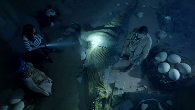 "dinosaurs on a spaceship, Doctor Who – 7.02 – ""Dinosaurs on a Spaceship"" Review"