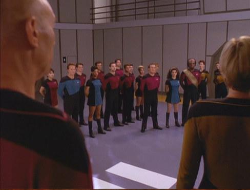 """, Star Trek – The Next Generation – 7.25/26: """"Gestern, Heute, Morgen"""""""