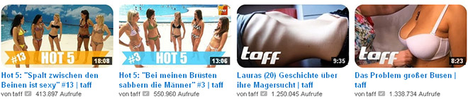 YouTube Taff
