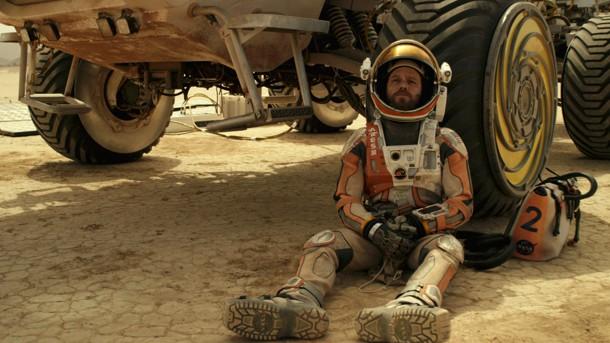 ", ""Der Marsianer – Rettet Mark Wattney"" – Review in rot."