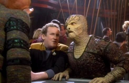 """, Star Trek DS9 – 1.05 – """"Tosk, der Gejagte"""" Review"""