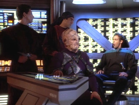 ", Star Trek DS9 – 1.08 – ""Der Parasit"" Review"
