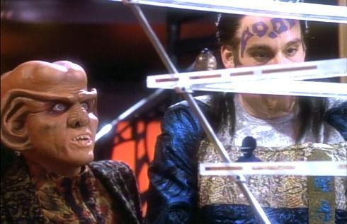 ", Star Trek DS9 – 1.09 – ""Chula – das Spiel"" Review"