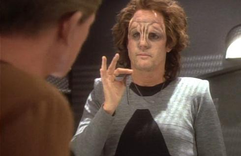 ", Star Trek DS9 – 1.11 – ""Der Steinwandler"" Review"