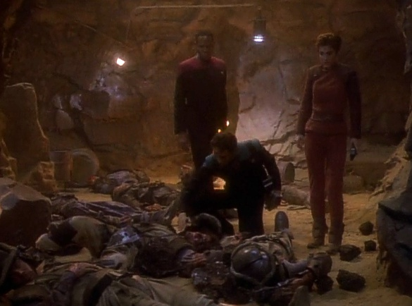 ", Star Trek DS9 – 1.12 – ""Die Prophezeiung"" Review"