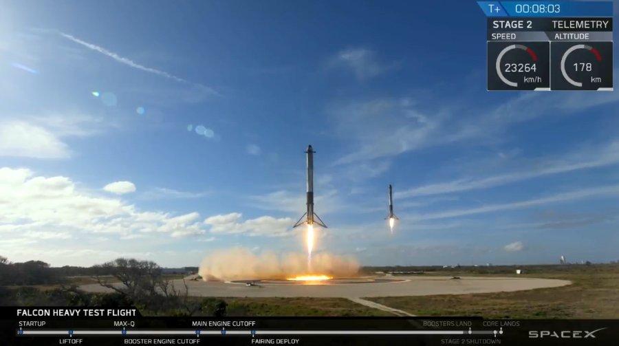, SpaceX Falcon Heavy Live-Stream & Countdown
