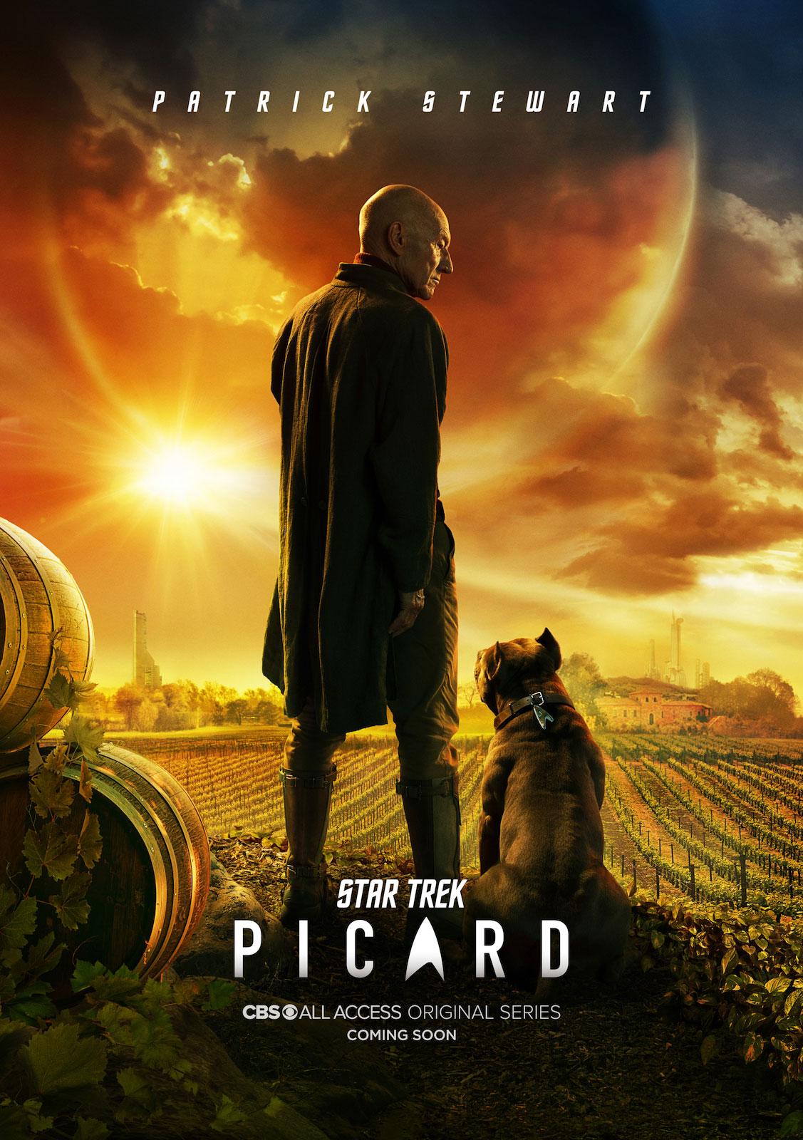 , Star Trek Picard – Das erste Poster zum Winzer Meisterpaket ist da!