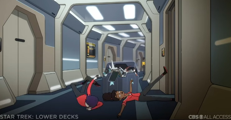 ", ""Star Trek – Lower Decks"" – Besprechung des Trailers"